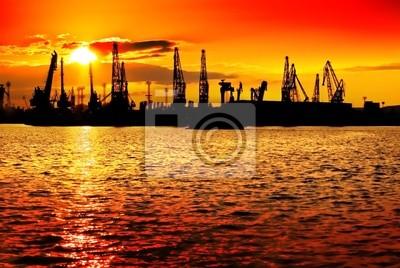 Sunset Orange Industrie