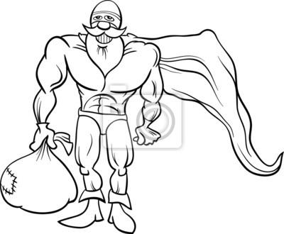 Superhelden Sankt Ausmalbilder Leinwandbilder Bilder Happy
