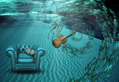 Bild Surreal-Unterwasserszenen