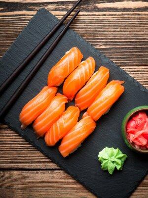 Bild Sushi mit Lachs