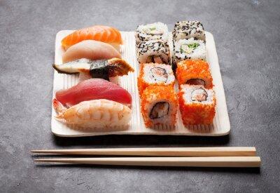 Bild Sushi und Maki-Set