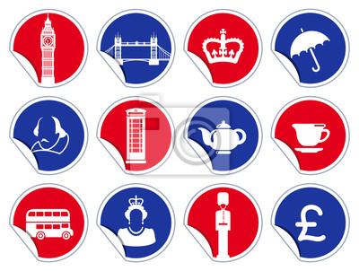 Symbols of England und London