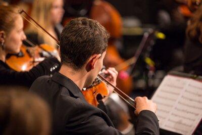 Bild Symphonieorchester der Durchführung.