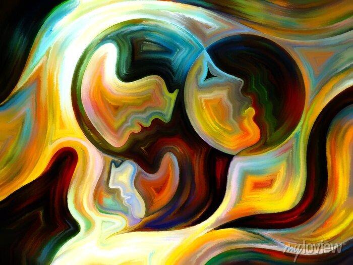 Bild Synergien von Inner Farbe