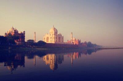 Bild Taj Mahal Indien sieben Wunder Konzepte