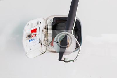 Tanken Sie das Erdgasfahrzeug (CNG) für Auto