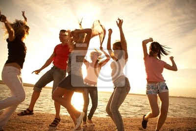 Tanz am Strand