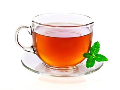 Bild Tasse Tee mit Minze