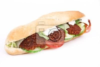 Bild Tasty Falafel Baguette