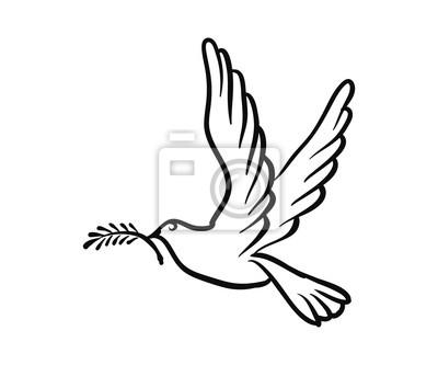 Taube Symbol Frieden Freiheit Freiheit Leinwandbilder Bilder