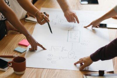 Bild Team brainstorming a startup business process