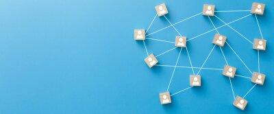 Bild Teamwork, network and community concept.