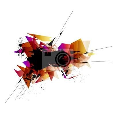 Tech abstrakten Hintergrund