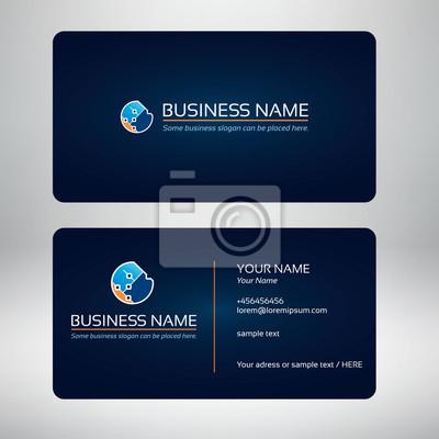 technologic-Logo und Visitenkarte