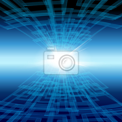tecnology Vektor Hintergrund