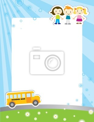 Template Hintergrund für die Schule poster