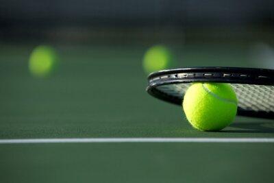 Bild Tennis Ball und Racket