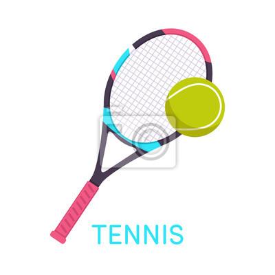 Tennis, Schläger, Ball
