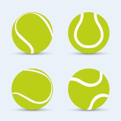 Tennis-Sportentwurf