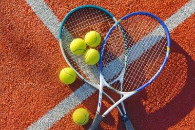 Bild Tennis, Tennisball, Bildhintergrund.