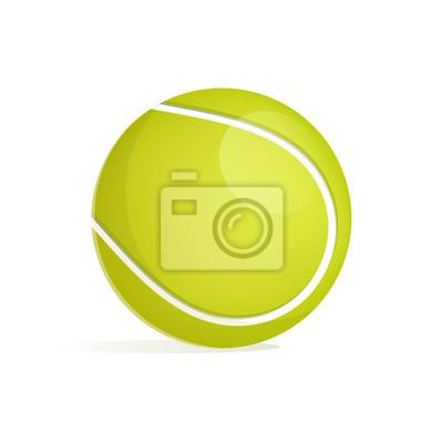 Tennisball grün