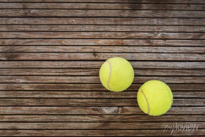 Bild Tennisbälle