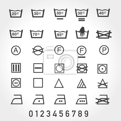 Waschmaschine Symbole Bedeutung