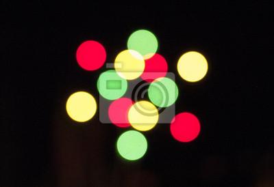 Bild The blurred Group of lights background