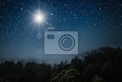 Bild The star indicates the christmas of Jesus Christ.