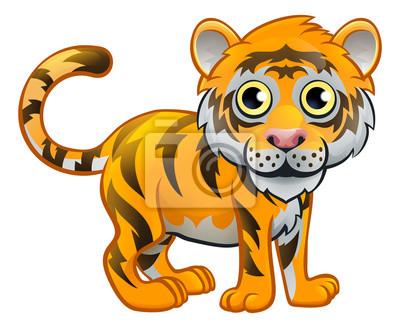 Bild Tiger Tier Zeichentrickfilm Figur