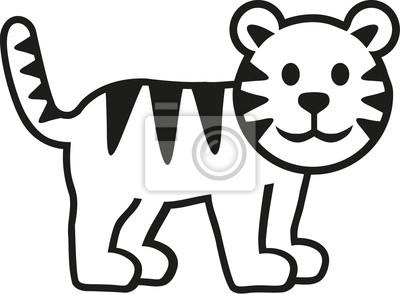 Bild Tiger Zeichentrickfilm