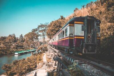 Bild Todeseisenbahn in Kanchanaburi, Thailand