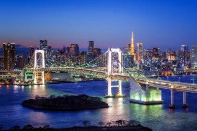 Bild Tokyo Rainbow Bridge und Tokyo Tower