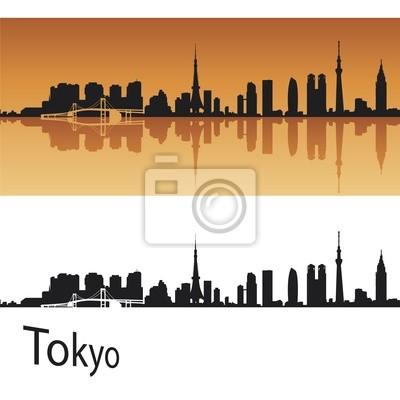Bild Tokyo skyline