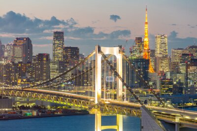 Bild Tokyo Tower Rainbow Bridge