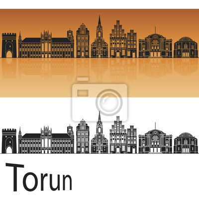 Bild Torun Skyline