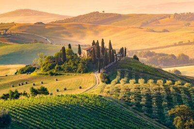 Bild Toskana, Italien. Landschaft