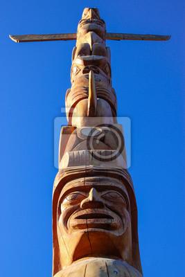 Totempfahl im Stanley Park, Vancouver
