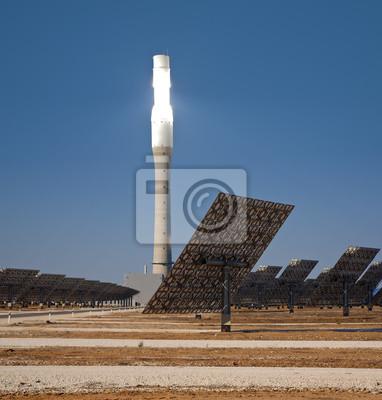 Bild Tower of solar termal Kraftwerk