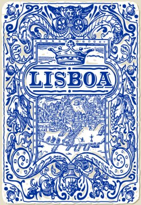 Bild Traditional Tiles Azulejos Lisboa, Portugal