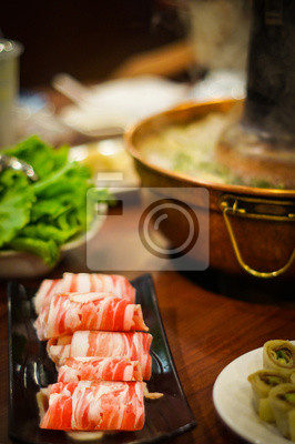 Traditionelle asiatische Hot Pot