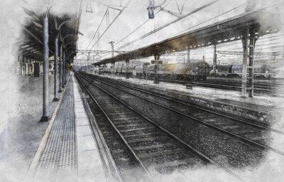 Bild Train station