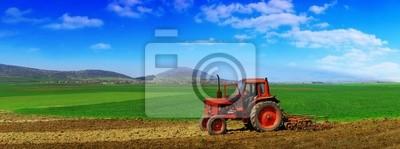 Traktor bearbeitet