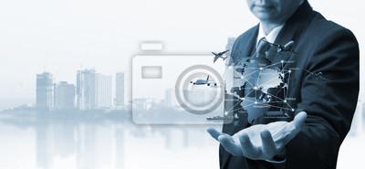Bild Transportation, import-export, logistic, shipping business management