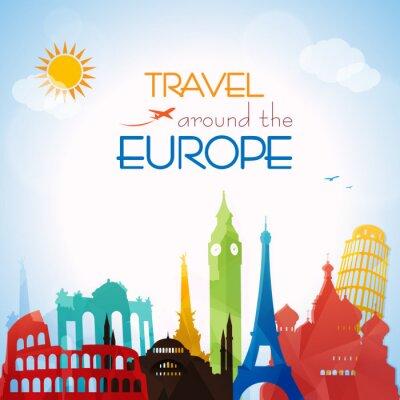 Bild Travel around the Europe