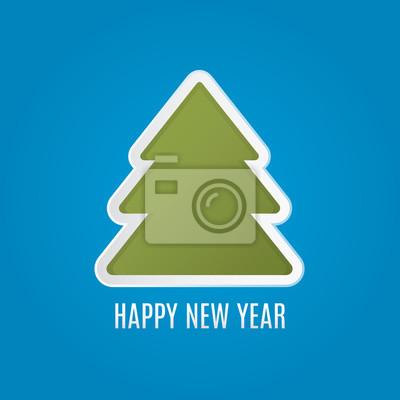 Tree new year