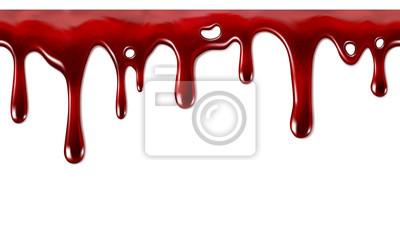 Bild Tropft Blut nahtlose wiederholbare