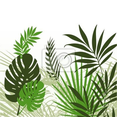 Tropische Blätter 01