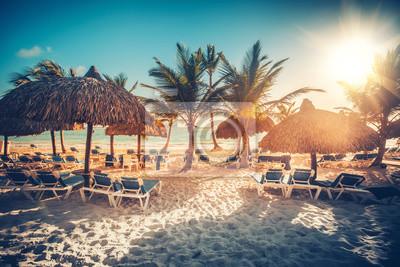 Tropischer Strandurlaubsort in Punta Cana, Dominikanische Republik