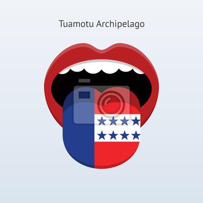 Tuamotu-Archipel Sprache.